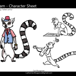 Train Conductor Character Design