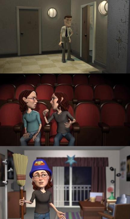 Animation Screenshots: Maya