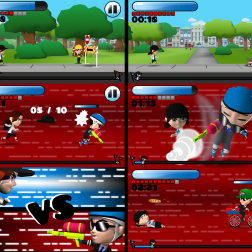 Amelia vs. the Marathon: Screenshots: 3DsMax, Unity